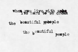 Beautiful Lyrics Quotes Best of Marilyn Manson The Beautiful People On We Heart It