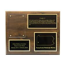 plaque 8x10 3 plates