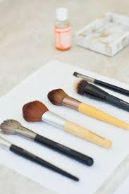 makeup brushes i used dr bronner s
