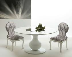 white round dining table.  White Awesome White Round Dining Table And Chairs Home  Wood Furniture With U