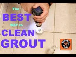 how to clean stained grout. Beautiful Grout Best Way To Clean Grout EVER  By Home Repair Tutor Inside How To Stained