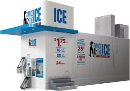 Self Serve Ice Vending Machines Mesmerizing Ice Vending Machines Thevillasco