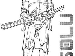 51 Star Wars Clone Trooper Coloring Pages 14 Clone Trooper Coloring