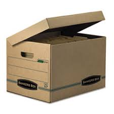 office file boxes. Bankers Office File Boxes