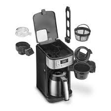 Again, for people who enjoy a coffee on the go, single serves are way more convenient for you. Cuisinart Dgb 450 Blade Grind And Brew 10 Cup Thermal Carafe Coffeemaker