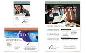 Ad Templates Accounting Bookkeeping Flyers Templates Designs Financial Accounting