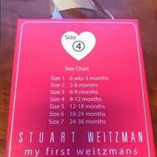Stuart Weitzman Baby Shoe Size Chart Stuart Weitzman Baby Girl Ballerina Shoes Size 4 Nwt