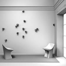 Small Picture Creative Wall Clocks Adding Contemporary Vibe to Modern Interior