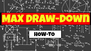Projected Max Chart Q A How Do You Calculate Max Draw Down In A Spreadsheet Ii Jemtrades