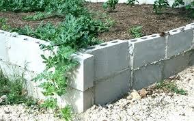 block retaining wall cost cinder block retaining wall cost garden building concrete block retaining wall cost