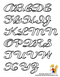 Fancy Alphabet Letters Drawing At Getdrawings Com Free For