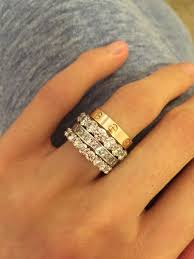 cartier wedding rings. Image result for cartier love ring stack Cartier Pinterest