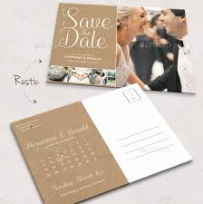 Save The Date Postcard Template Wilkesworks