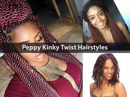Twist Hair Style peppy kinky twist hairstyles for black women hairstyle for women 8917 by stevesalt.us