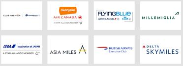 membership rewards airline partners