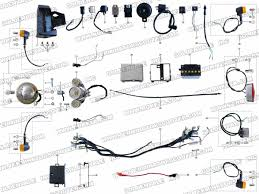 roketa mc 56 electrical parts