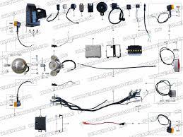 roketa mc 56 electrical parts