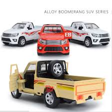 Hot 1:38 scale toyota Pickup truck & SUV Off road vehicle diecast ...