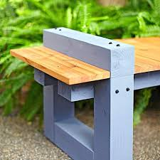 fresh simple outdoor bench plans for half bench 45 simple outdoor wood bench designs