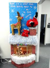 christmas decorations ideas for office. Office Holiday Party Decorating Ideas Cubicle Christmas Door Contest For Decorations O