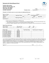 Create A Car Rental Agreement Form Templates - Fillable & Printable ...