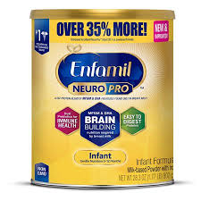 Enfamil Newborn Formula Feeding Chart Enfamil Infant Neuropro Baby Formula 28 3 Oz Powder Value Can