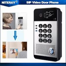 <b>I30 SIP</b> Door <b>Video</b> Phone support Access Control,<b>Intercom</b> and ...
