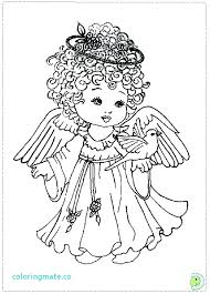 Angel Color Sheet Angel Coloring Pages For Adults Angel Coloring