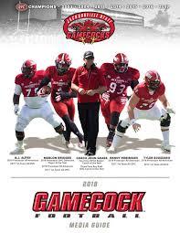 2018 Jacksonville State Football Media Guide By Jacksonville