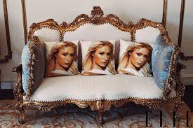 Elegant Elle 01 July Paris Hilton 0713 Lgn1 The Vivants Top 10: Inside Paris Hiltons  Home