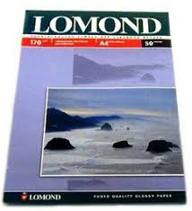 Купить <b>Фотобумага Lomond</b> 0102006 <b>A4</b>/170г/м2/100л./белый ...
