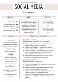 Digital Resume Templates Digital Resumes Templates Resume Template Free Download
