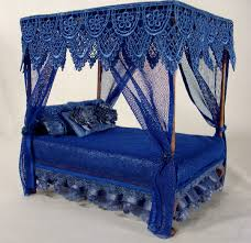 Solid Blue Bed Canopy : Sourcelysis - How To Make A Hand Bound Blue ...