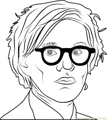 Small Picture Andy Warhol Coloring Page Free Andy Warhol Coloring Pages