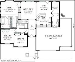 best ranch floor plans ranch home floor plans with basement awesome one level house plans with