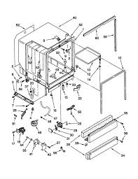 Whirlpool undercounter dishwasher parts model gu980scgz1 sears partsdirect