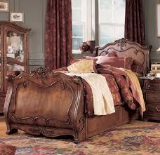 Pulaski Edwardian Bedroom Furniture Sleigh Bed Willenburg Linen King Upholstered Sleigh Bed By
