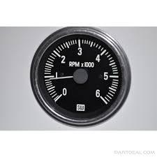 stewart warner stewart warner tachometer 6000 rpm ignition stewart warner tachometer