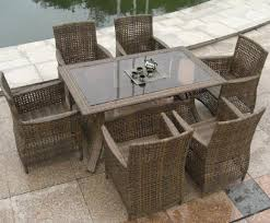 rattan dining room set. full size of chair:amazing classic english courtyard with rattan dining set on stone tile room h