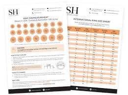 Free Size Chart Template Ring Sizer Print Out Uk