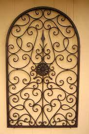 wrought iron wall decor wrought iron