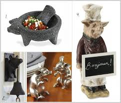 inspiring pig kitchen accessories