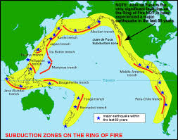 countries in the ring of fire