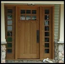 mission style front doorHeart of Oak Workshop Authentic Craftsman  Mission style Door