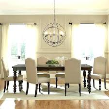 size of chandelier for dining table rectangular chandelier dining room rectangular chandelier dining room contemporary with