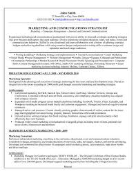 Graphics Specialist Sample Resume Fascinating A Professional Resume Template For A Marketing Specialist Want It