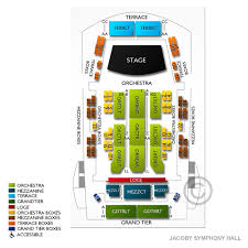 Jacoby Hall Jacksonville Seating Chart Times Union Perf Arts Jacoby Symphony Hall Tickets