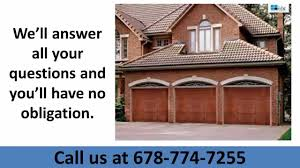mcdonough ga garage door repair 678 774 7255