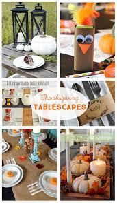 diy thanksgiving tablescapes fabulous diy ideas for your thanksgiving tables diy place cards