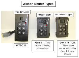 allison wtec iii & gen 4 5 hardware differences bustekhub Allison Shifter Wiring Diagram allison, shifter, wtec iii, gen 4, gen 5 allison shifter wiring diagram